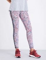 The Upside Ladies Fire And Rain Stretch-Jersey Leggings