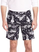 Polo Ralph Lauren Luau-Print Shorts