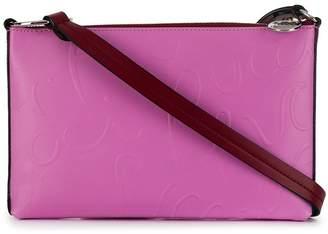 Emilio Pucci Embossed Pucci Logo Envelope Mini Bag