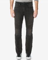 Buffalo David Bitton Men's Dusty and Dark Moto Stretch Jeans