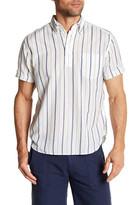 Gant India Stripe Short Sleeve Regular Fit Shirt