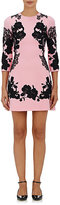Dolce & Gabbana Women's Wool Appliquéd Minidress-PINK