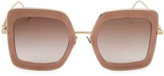 Bottega Veneta DNA 51MM Oversized Square Sunglasses