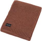 A by Amara - Tatton Knitted Throw - Sandstone