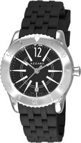 Azzaro Men's AZ2200.12BB.010 Coastline Dial Rubber Strap Dial Watch