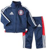 adidas Newborn/Infant Boys) Two-Piece Pride Jacket Set