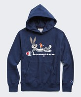Looney Tunes Todd Snyder + Champion Champion + Bugs Bunny Hoodie in Marine Blue