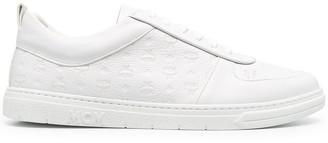 MCM Embossed Monogram Sneakers