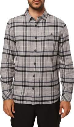 O'Neill Redmond Standard Fit Plaid Button-Up Flannel Shirt
