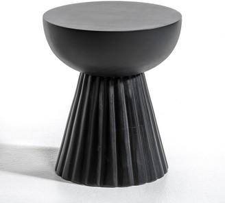 Am.pm. Donato Side Table in Solid Mango