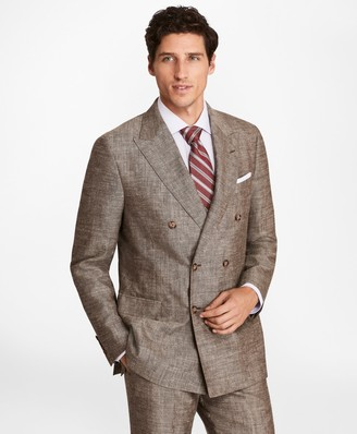 Brooks Brothers Regent Fit Double-Breasted Wool Blend Sport Coat