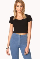 Forever 21 Favorite Knit Crop Top