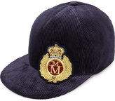 Maison Michel Nick Corduroy Embroidered Hat