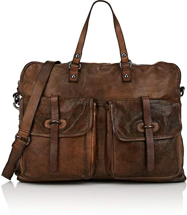 Campomaggi Men's Leather Briefcase