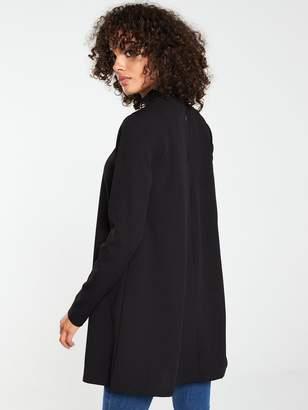 Very Long Sleeve Tunic - Black