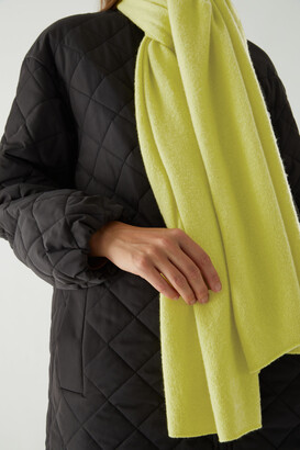 Cos Unisex Knitted Cashmere Scarf