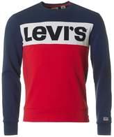 Levi's Red Tab Colour Block Crew Neck Sweat