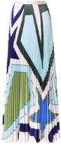 Mary Katrantzou 'Star Heart' pleated skirt
