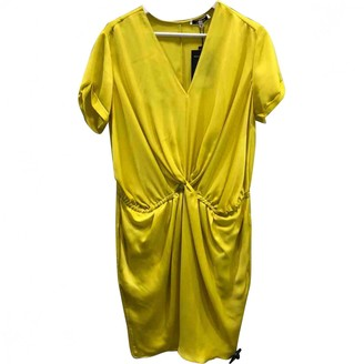 Carven Yellow Polyester Dresses