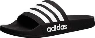 adidas Men's Adilette Shower Mule FTWR White/core Black 17 Standard US Width US
