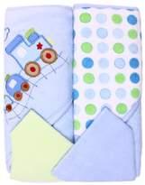 SpaSilk Hooded Terry Bath Towel with Washcloths