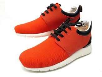 Louis Vuitton Fastlane Orange Cloth Trainers