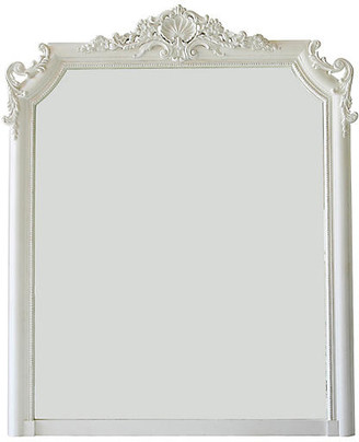"""Ave Home Regent 53""""x66"""" Shell Wall Mirror"""