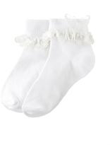Monsoon Girl Butterfly Lace Socks