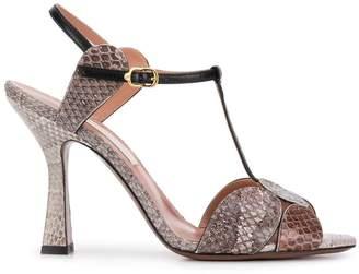 L'Autre Chose T-bar sandals