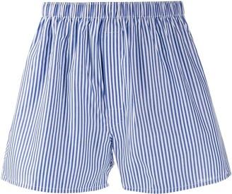 Sunspel striped boxers