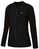 Speedo Women's Endurance Zip Up Long Sleeve Sun Top