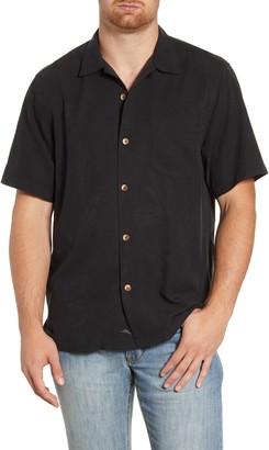 Tommy Bahama Al Fresco Tropics Classic Fit Short Sleeve Silk Button-Up Shirt