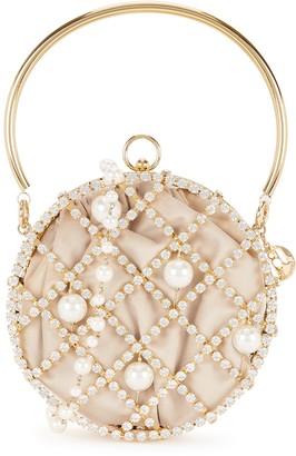 Rosantica Ines crystal-embellished cross-body bag