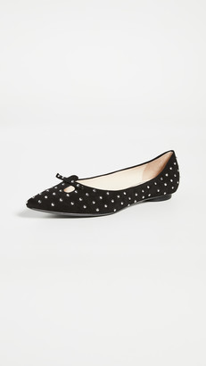 Marc Jacobs The Studded Mouse Flats