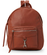 Imoshion Cognac Pebbled Backpack
