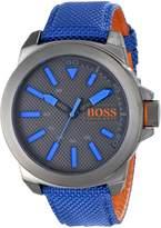 BOSS ORANGE Men's 1513008 New York Analog Display Quartz Watch