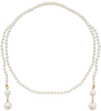 Sophie Bille Brahe Gold Pearl Peggy Giudecca Necklace