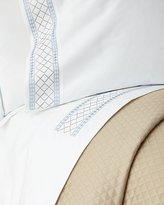 Peter Reed Two Standard Diamond Border Pillowcases