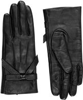 """Oasis LEATHER BOW GLOVE [span class=""""variation_color_heading""""]- Black[/span]"""