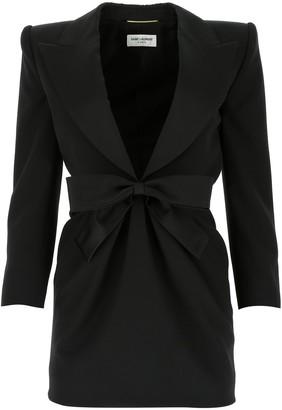 Saint Laurent Tuxedo Mini Dress