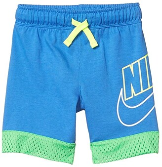 Nike Kids Mesh-Trimmed Pull-On Shorts (Little Kids) (Pacific Blue) Boy's Shorts