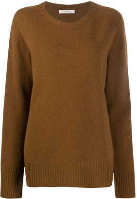 The Row Crew-Neck Long Sleeve Jumper