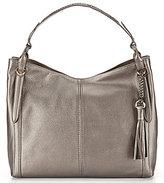Cole Haan Adair Leather Tassel Detail Hobo Bag
