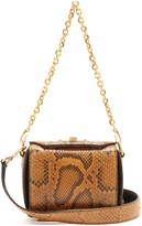 Alexander McQueen Box 16 python shoulder bag