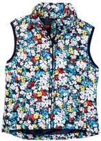 Joe Fresh Quilted Floral Vest (Big Girls)