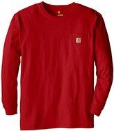 Carhartt Men's Big & Tall Workwear Pocket LS Jersey K126