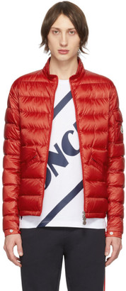Moncler Red Down Agay Jacket