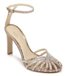 Badgley Mischka Women's Polly High Heel Evening Sandal Women's Shoes