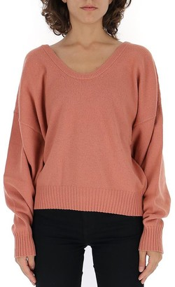 See by Chloe Scooped Neck Sweater