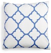 "Charter Club Damask Designs Geometric 18"" Square Decorative Pillow"